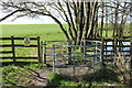 NY0782 : Kissing Gate at Mill Loch by Billy McCrorie