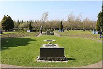 NY1281 : Remembrance Garden, Lockerbie by Billy McCrorie