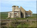 NZ6921 : Remains of the Guibal Fanhouse by Oliver Dixon