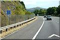 ST3758 : Southbound M5 near Hillend by David Dixon