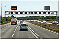 ST6082 : Overhead Sign Gantry, Southbound M5 near Almondsbury by David Dixon