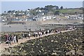 SW5130 : The causeway to St Michael's Mount on Good Friday by Philip Halling