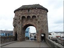 SO5012 : Monnow Bridge, Monmouth by Chris Gunns