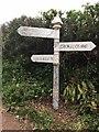 ST1336 : SCC fingerpost at the junction of Stogumber Hill and Heddon Wood Lane by Marika Reinholds