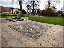 SE5952 : The Geological Map Mosaic by Gerald England