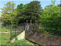 TQ1776 : Isleworth Ferry Gate, Kew Gardens by Andrew Curtis