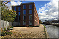 SP3264 : Recently-built student accommodation, Tower Street, Leamington by Robin Stott
