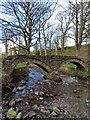 SD9339 : The pack horse bridge over Wycoller Beck by Steve Daniels
