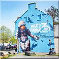 J5081 : Mural, Bangor by Rossographer