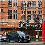 TQ2981 : LEVC TX Taxi outside Palace Theatre by Oast House Archive