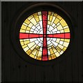 SJ9392 : The inside round window by Gerald England