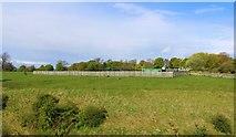 NO4203 : Upper Largo Cricket Club by Bill Kasman