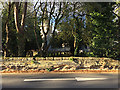 SP2864 : St Nicholas Churchyard wall, Warwick by Robin Stott