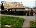 SN9926 : Former church in Libanus, Powys by Jaggery