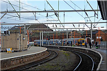 SO9298 : Wolverhampton Station by Roger  Kidd
