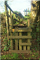 SX7882 : Complicated stile near East Wray Cleave by Derek Harper