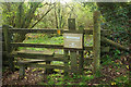 SX7882 : Stile into East Wray Cleave by Derek Harper