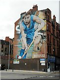 NS5566 : #2014 hockey mural by Richard Sutcliffe