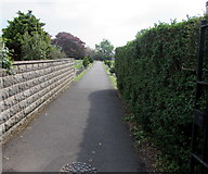 ST3049 : Main entrance to Burnham-on-Sea Cemetery by Jaggery