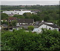 ST1596 : Towards Tir-y-berth Industrial Estate by Jaggery