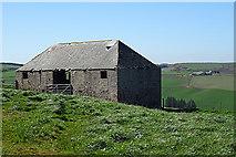 NJ8565 : Old Barn by Anne Burgess