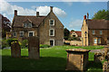 ST4316 : Churchyard and The Surgery, South Petherton by Derek Harper
