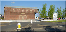 NS2975 : James Watt Dock sugar sheds by Thomas Nugent