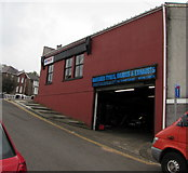ST1599 : Bargoed Tyres, Brakes & Exhausts, Bargoed by Jaggery
