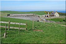 NJ8764 : Clinterty Farm by Anne Burgess