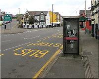 ST1599 : BT phonebox, Park Place, Gilfach by Jaggery