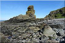 NJ8864 : Rock Stack by Anne Burgess