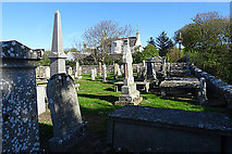 NJ8864 : St Drostan's Kirkyard by Anne Burgess