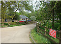 SP3826 : Entrance to Wood View Farm by Des Blenkinsopp