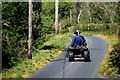 H4975 : Guys on a quad bike, Crosh by Kenneth  Allen