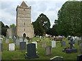 ST3241 : A garden of rest in the churchyard by Neil Owen