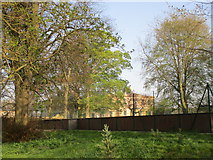 SE8067 : Tennis courts and Langton Hall by Jonathan Thacker
