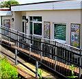 SO3204 : Three mosaics, Goytre Fawr Primary School, Penperlleni by Jaggery