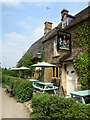 SP3929 : Outside The Falkland Arms by Des Blenkinsopp