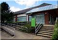 SO2913 : Steps up to Waitrose, Abergavenny by Jaggery