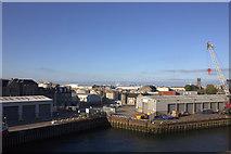 NJ9505 : Aberdeen, Victoria Dock by Robert Eva