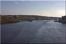 NJ9605 : Mouth of River Dee, looking westwards by Robert Eva
