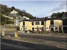 SX2553 : The Globe Inn, Looe by Andrew Abbott