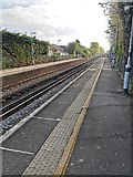 TQ6304 : Railway Tracks at Pevensey and Westham Station by PAUL FARMER