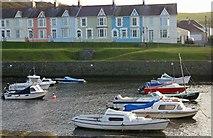 SN4562 : Aberaeron harbour, Ceredigion by Ann