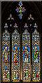 SE5703 : Window s.4, Doncaster Minster by Julian P Guffogg
