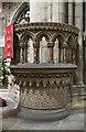 SE5703 : Pulpit, Doncaster Minster by Julian P Guffogg