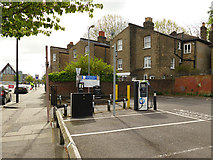 TQ4077 : Charging point on Old Dover Road by Stephen Craven