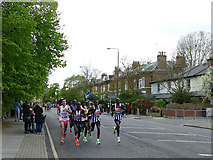 TQ4077 : London Marathon 2019 - front of the pack by Stephen Craven