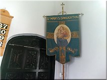 SJ3464 : Banner for processional use by Garry Lavender-Rimmer
