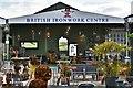 SJ3327 : British Ironwork Centre by Michael Garlick